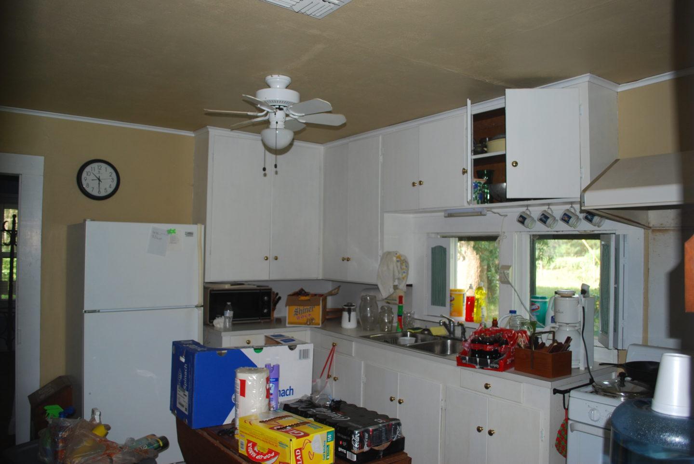 Kitchen Before De-cluttering