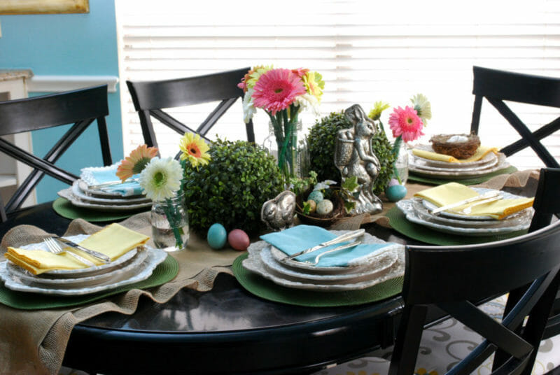 Decorating your table with Easter Decor DIY