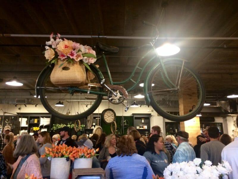 Magnolia Bike Display