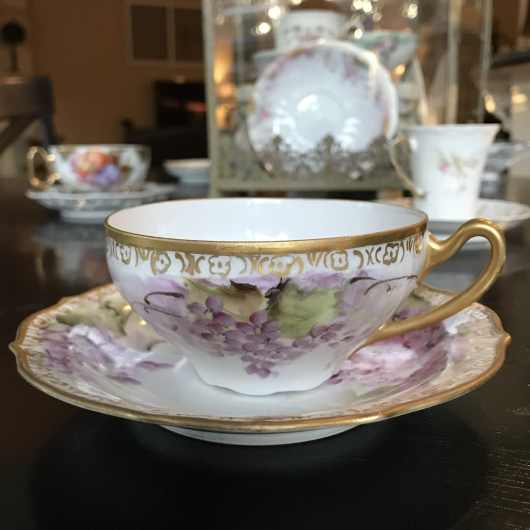 Teacups aren't just for sipping tea