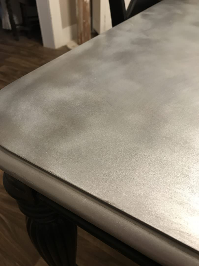 DIY Galvanized table top