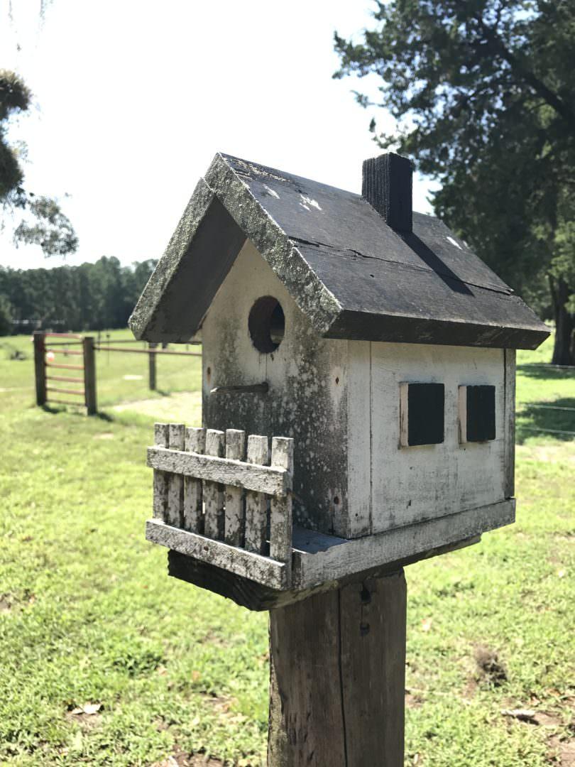 cottage style birdhouse
