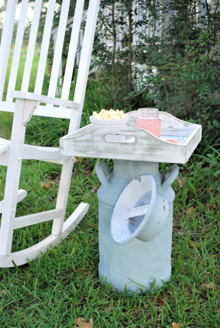 Repurpose a Vintage Milk Can