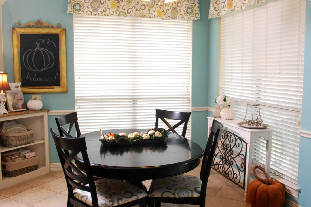 Breakfast Room fall tour by CountyRoad407.com