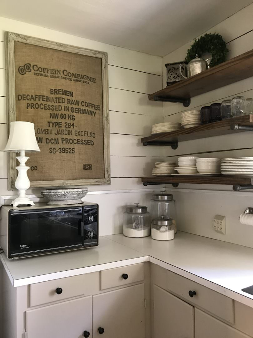 Farmhouse kitchen details in Navasota, TX by CountyRoad407.com