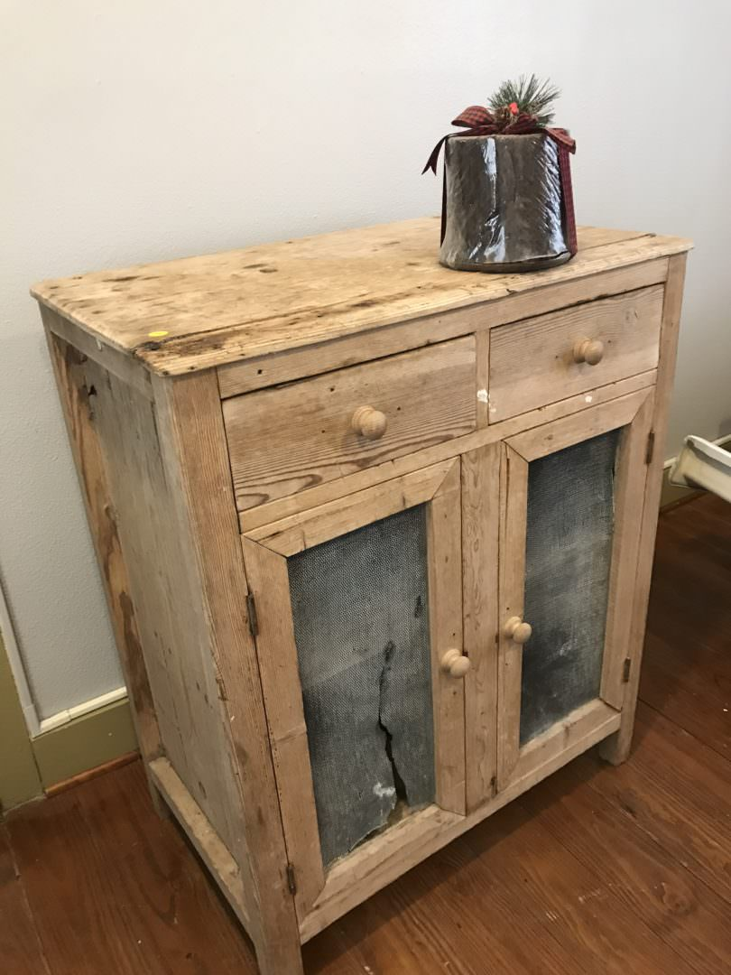 Antique Hutch will find new purpose