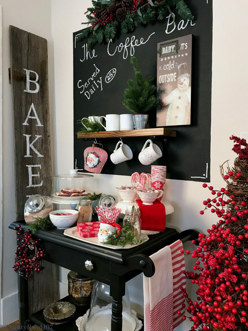 Full Christmas Cocoa Bar by Countyroad407.com