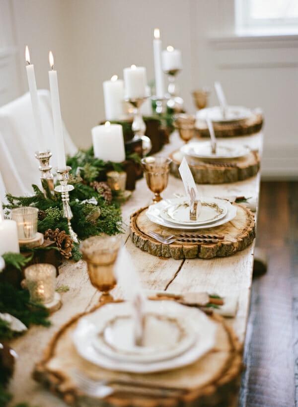 winter table top by Elizabeth Anne