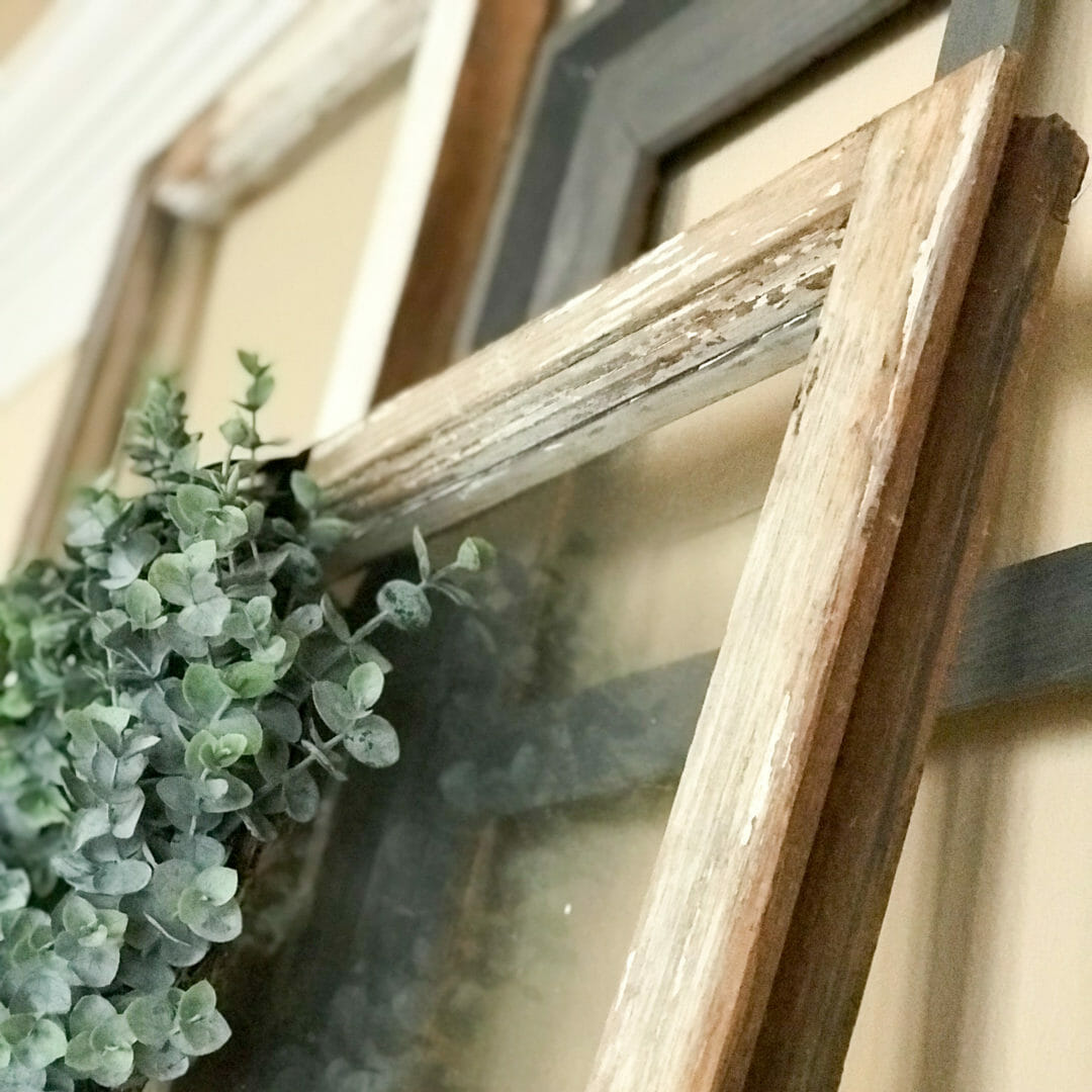 Ideas for repurposing old windows by CountyRoad407.com