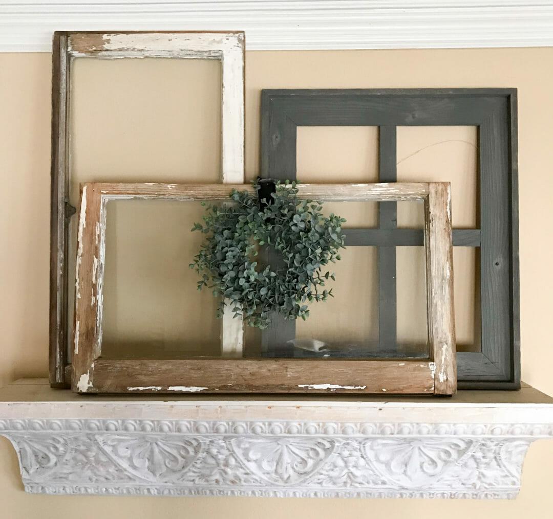 Repurposing Ideas for old windows on CountyRoad407.com