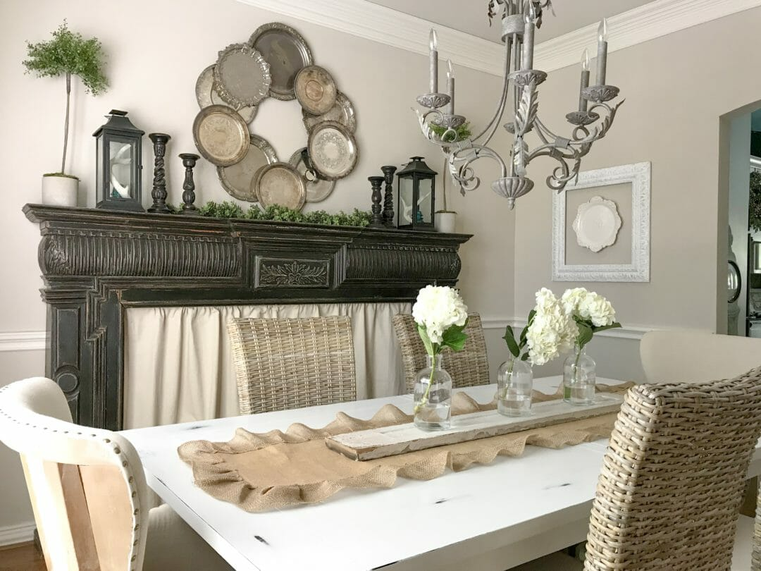 Modern Farmhouse Dining Room: Our Modern Farmhouse Dining Room Is Complete!