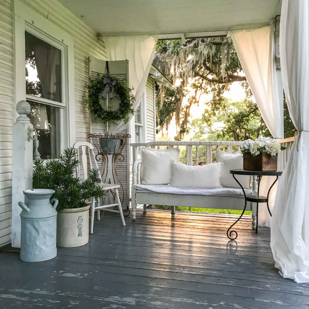 Lazy Hazy Days Of Summer Farmhouse Porch